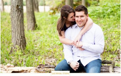 Kristina+Ryne Engagement | Southern Wisconsin
