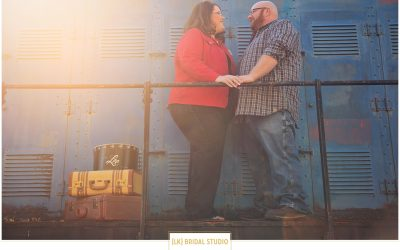 AmyElizabeth+Shawn Engagement | Mid-Continent Railway Museum