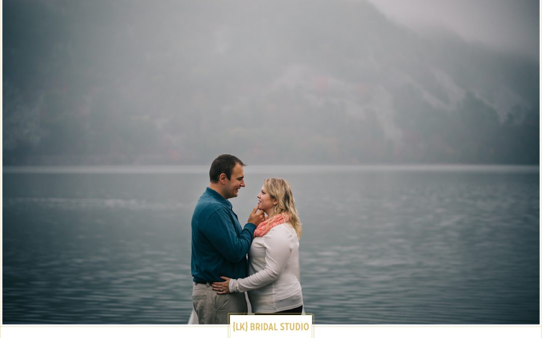 Leslie+Michael Engagement | Devil's Lake State Park