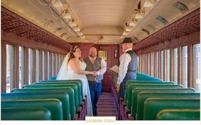 AmyElizabeth+Shawn Wedding | Mid-Continent Railway Museum | North Freedom Wisconsin