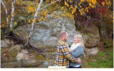 Grace+Ian Engagement | Southern Wisconsin