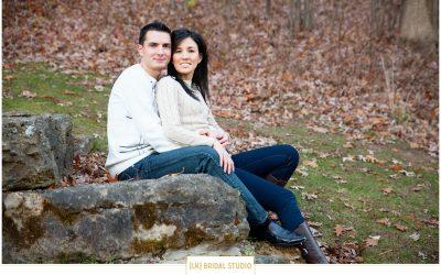 Livia+Claudiu Engagement | Trappers Turn Golf Club | Wisconsin Dells